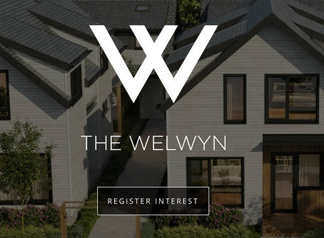 The Welwyn Townhouse Development now selling