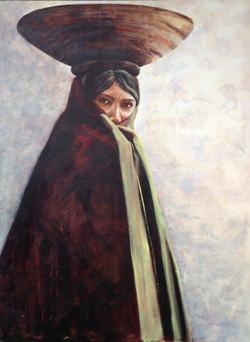 Maricopa Indian Woman