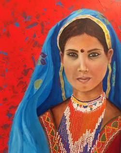 Young Rajasthani Girl