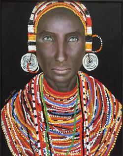 Kenyan Woman - SOLD