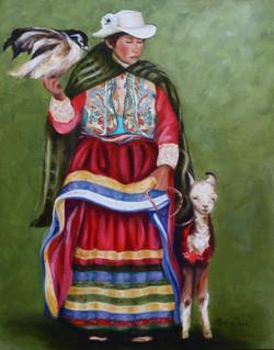 SOLD - Peruvian Woman