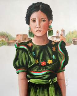 Young Mexican Girl