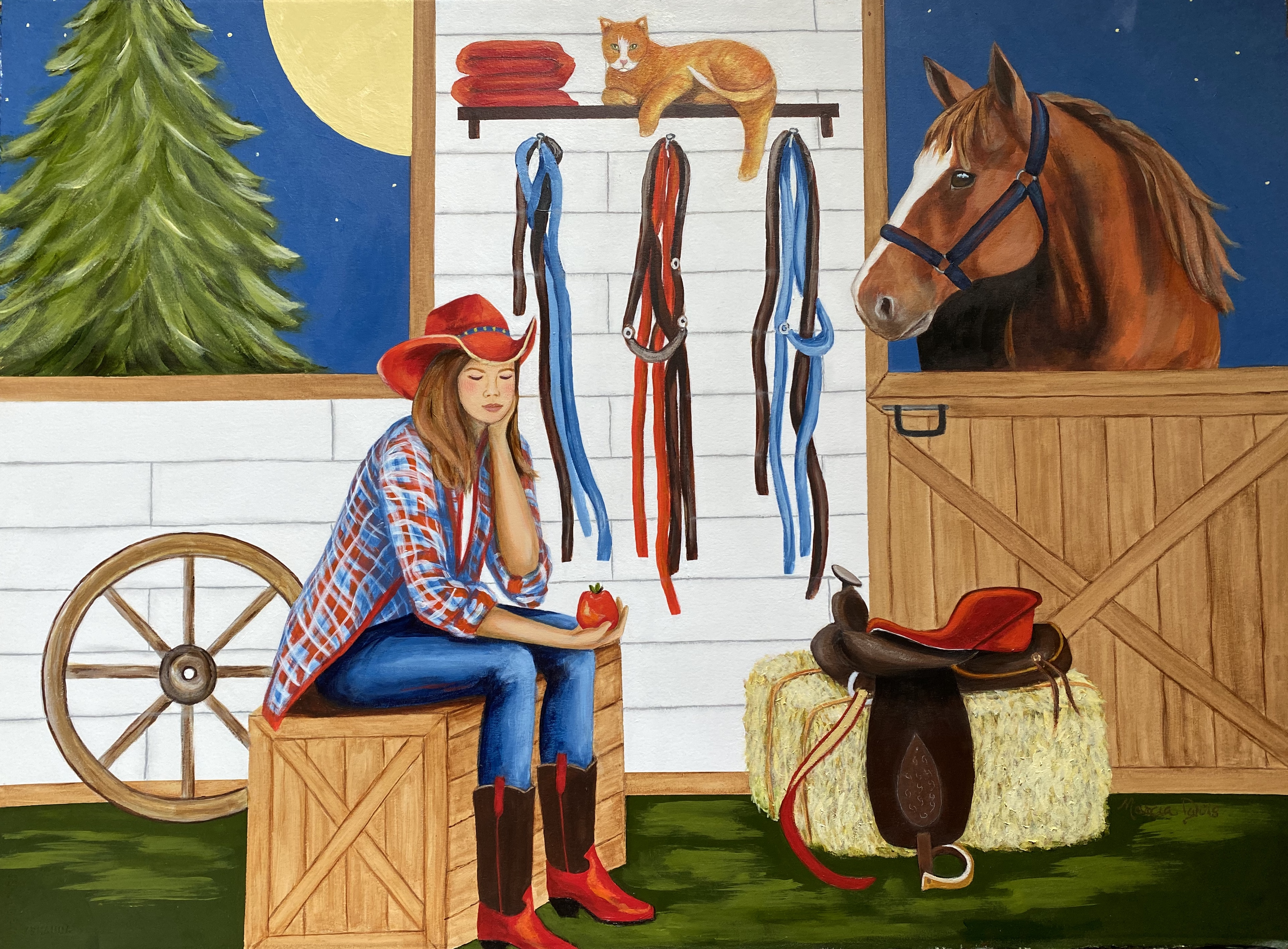 Stable Talk - SOLD