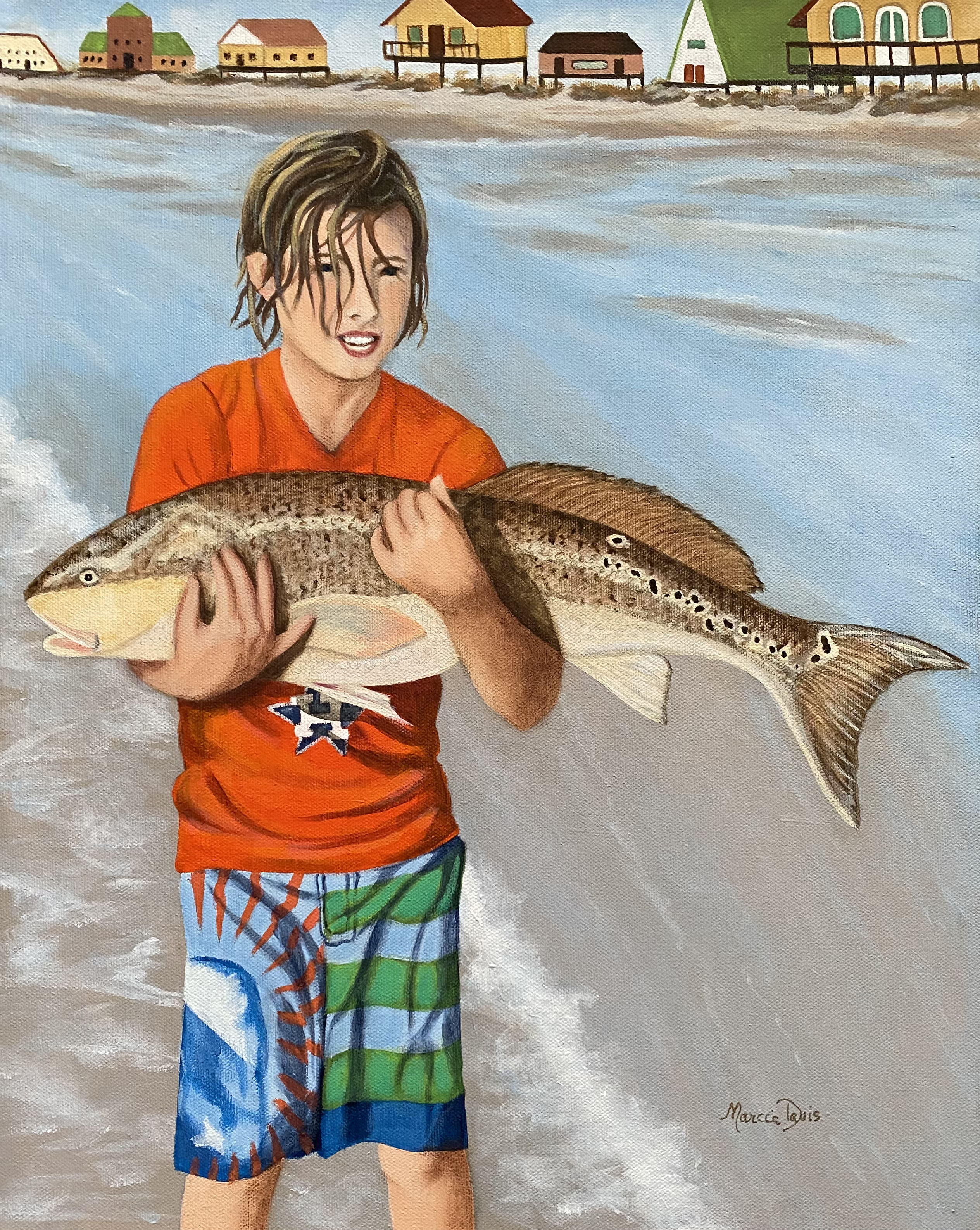 SOLD - Lane's Red Fish