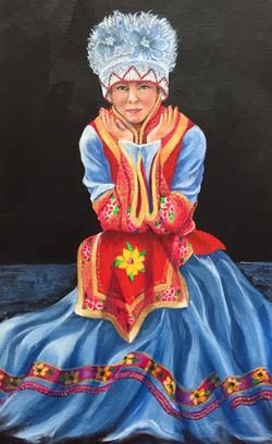 Young Woman from Lijiang, China