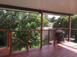Deck with Solaris Insulated Roof