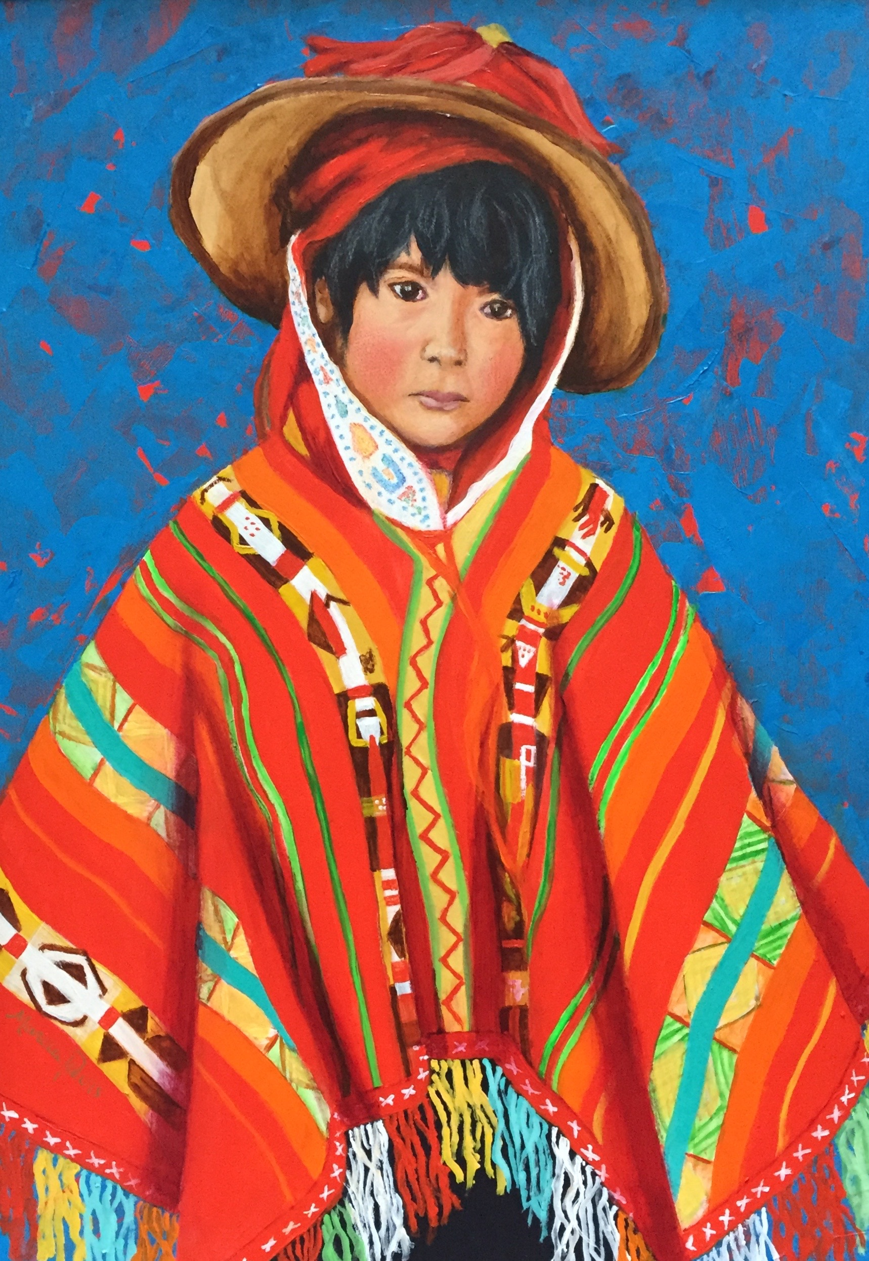 Young Peruvian Child