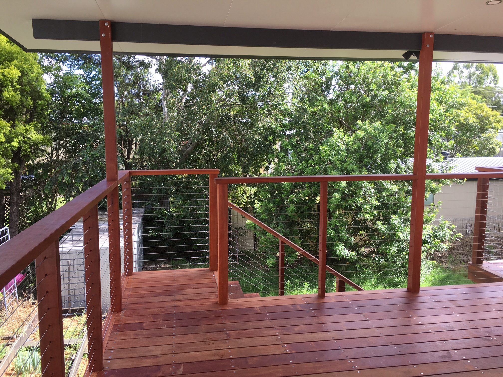 Deck using Australian Jarah