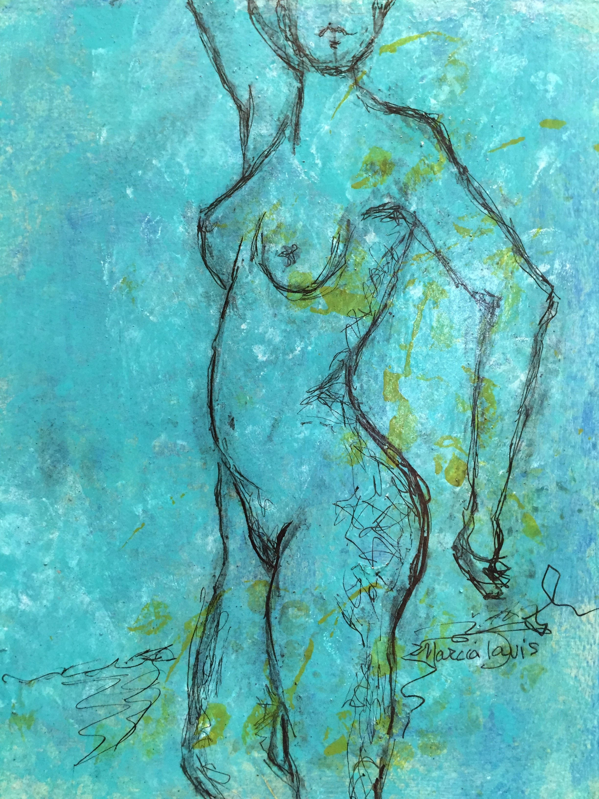 Green Nude I
