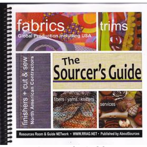 Sourcer's Guide Directory for Fabric & Trims
