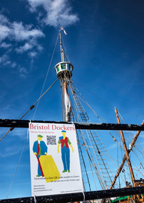 Bristol Dockers Signs Around the Harbourside