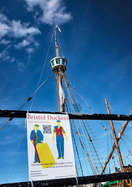 Bristol Dockers Signs Around the Harbourside