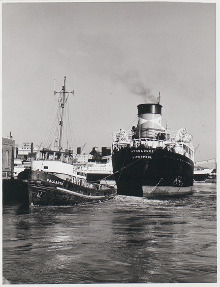 A Tug Pulling the Athelduke