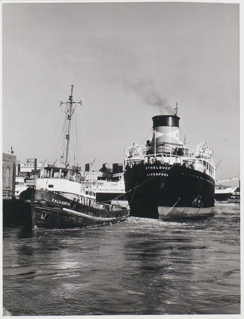 A Tug Pulling the Athelduke