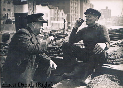 Ernest Daniels (right)