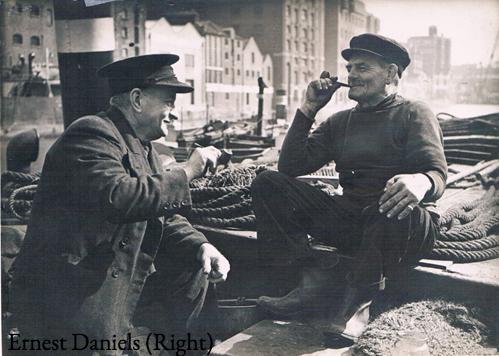 Ernest Daniels (right)