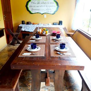 Mesa do café manhã