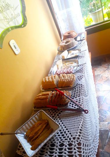 Café da manhã - detalhe