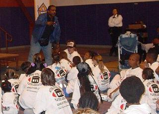 GFL Mentor Speaks to Students