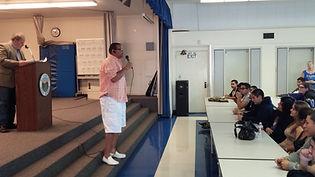 Steve Murow & Ricky Ellis Speaking at GFL Assembly