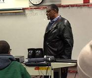 Rosey Grier Speaking to GFL Students