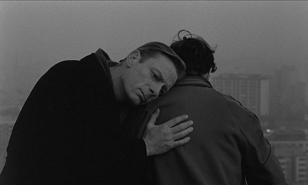 """Imagen de la película """"Las alas del deseo"""" de Wim Wenders"""