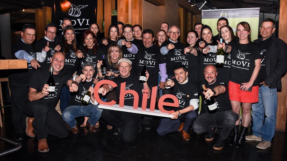 Evento de lanzamiento de MOVI en Colombia en el Restaurante Osk, 12/02/2018