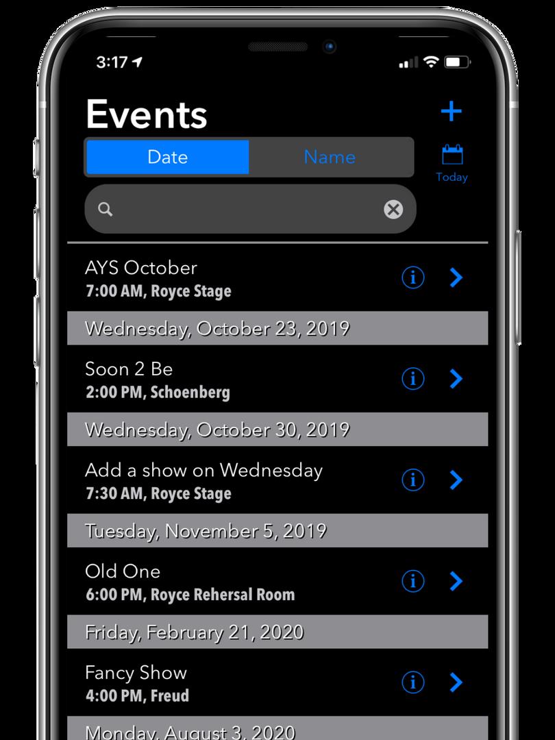 Event List