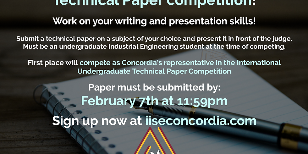 Technical Paper Competition