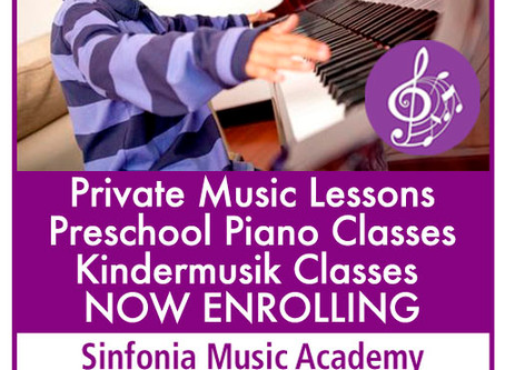 Now Enrolling!!!Musical Instruction for all ages!