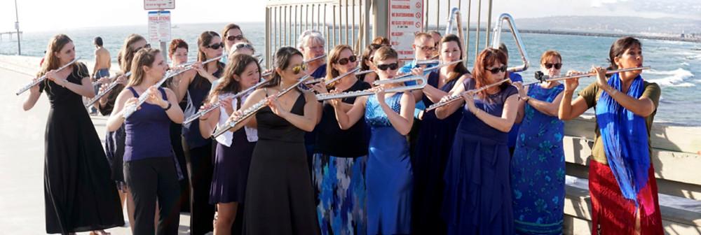 """""""Under'the'Sea"""" with Viviana Guzman (far right)"""
