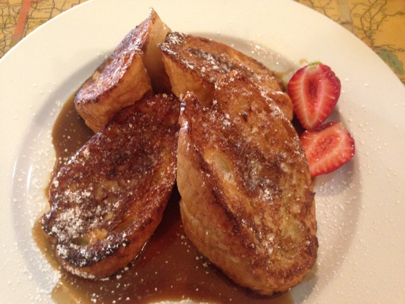 Bananas Foster French Toast - New Orleans, LA