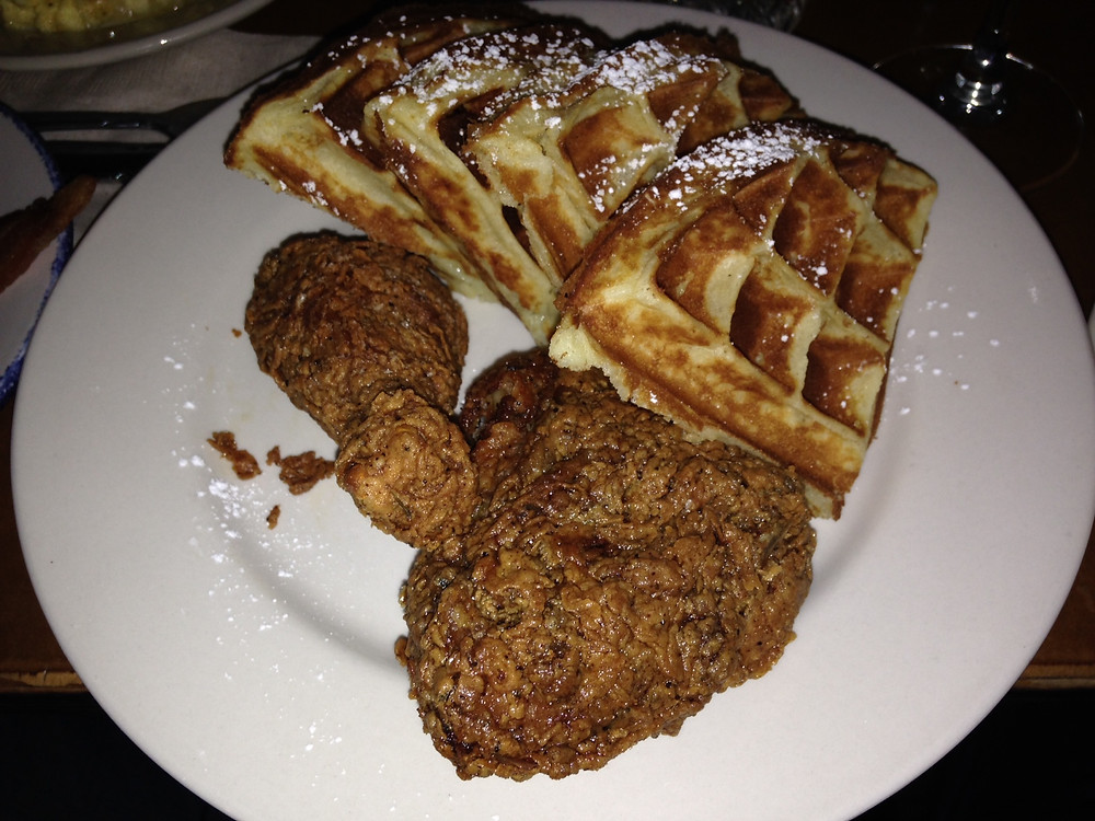 fried chicken and waffles sweet chick soul society 101 brunch brooklyn williamsb