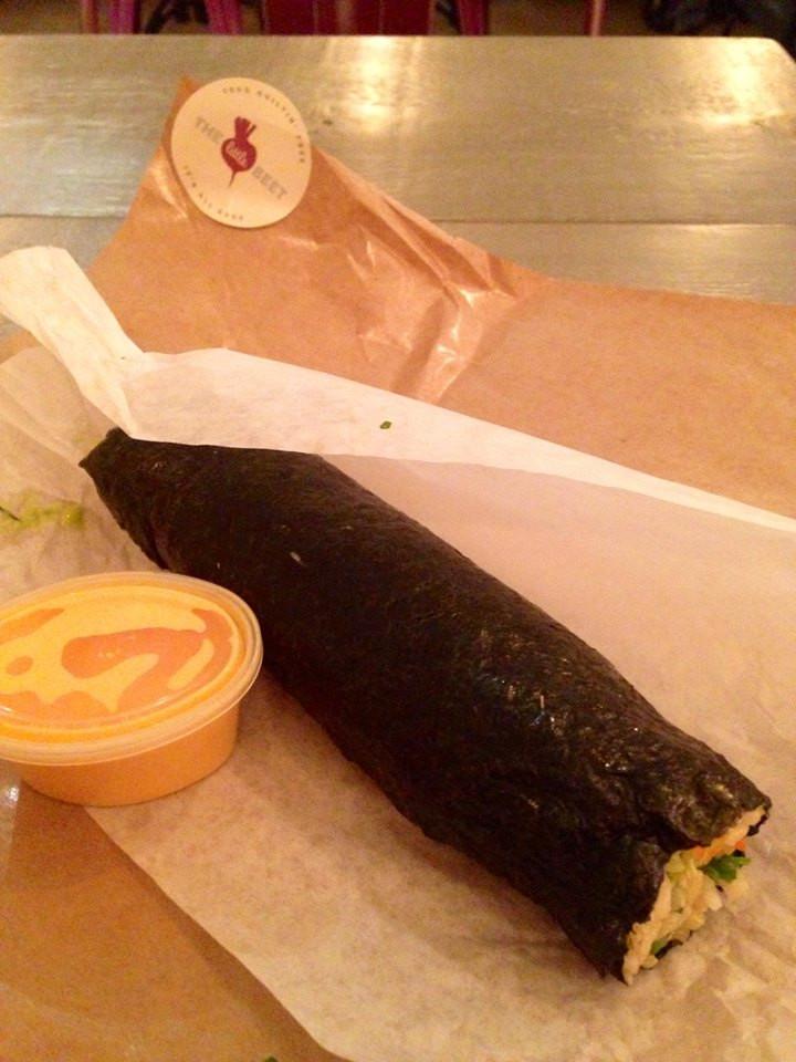 Bahn Mi beet healthy filling food in nyc midtown manhattan lunch.jpg