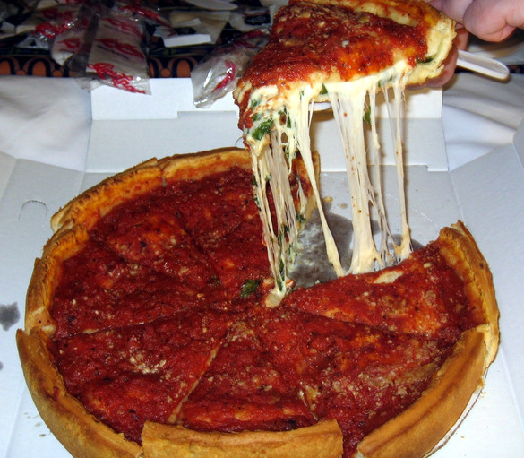 I Heart Chicago Deep Dish