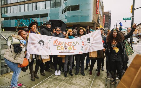 KWANZAA CRAWL 2016