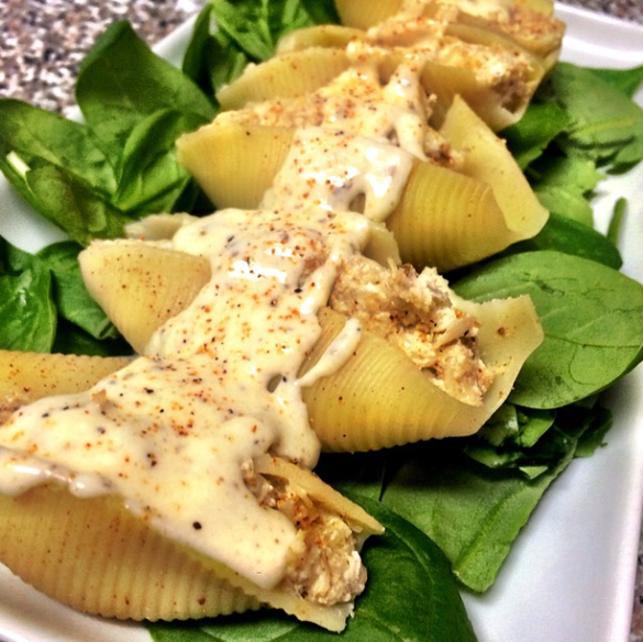 CHEF ANTHONY THOMAS - RECIPES: Creamy Crab-Stuffed Shells & Seafood Stuffed Baked Potatoes