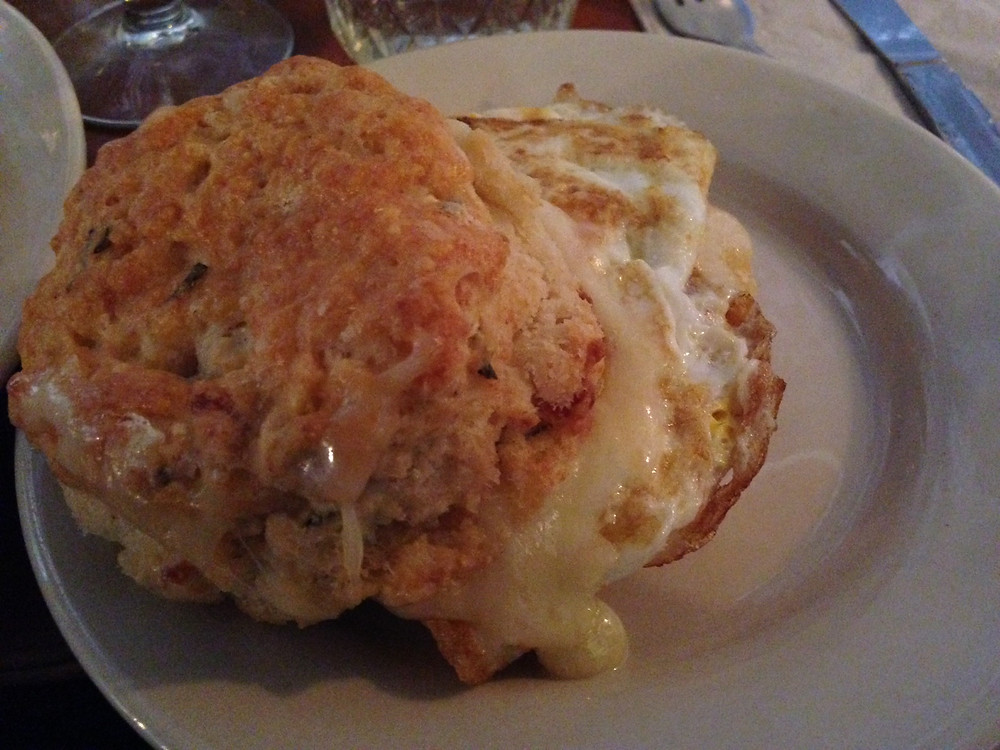 rosemary and bacon biscuit sweet chick soul society 101 brunch brooklyn williams