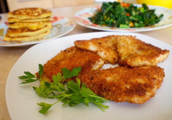 CHEF Rocquelle Devine: RECIPES: PANKO CRUSTED FISH