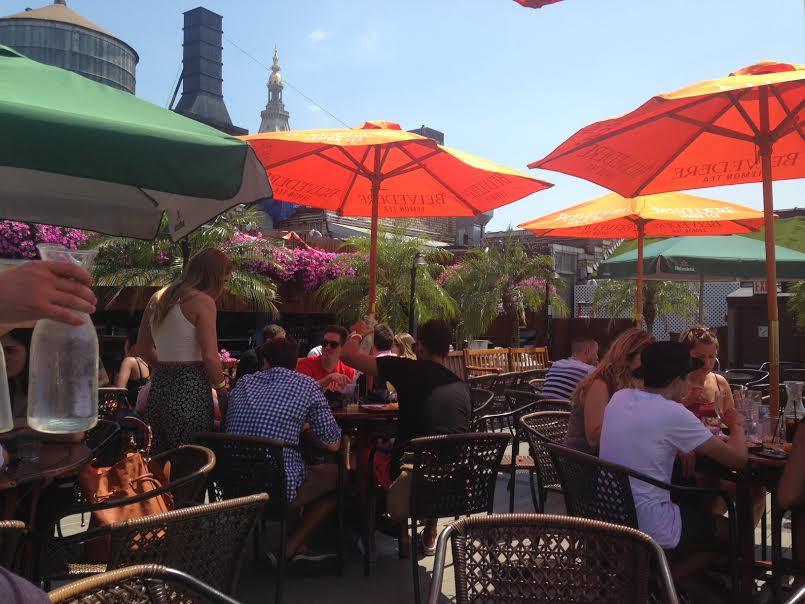 30 Fifth brunch bar rooftop nyc new york city manhattan oasis getaway sexy unlim