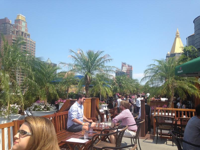 230 5Fifth brunch bar rooftop nyc new york city manhattan oasis getaway sexy unl