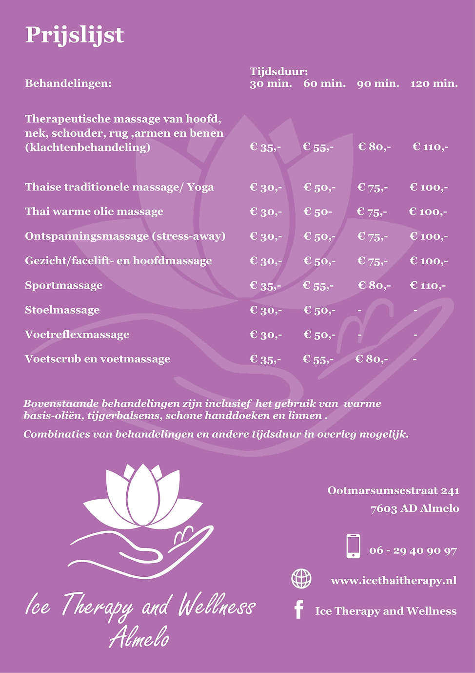 Ice Thai Therapy and Wellness