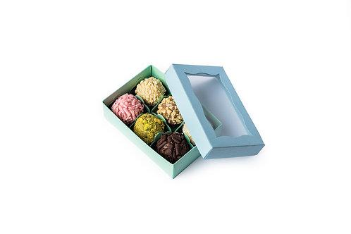 Box of 6 brigadeiros