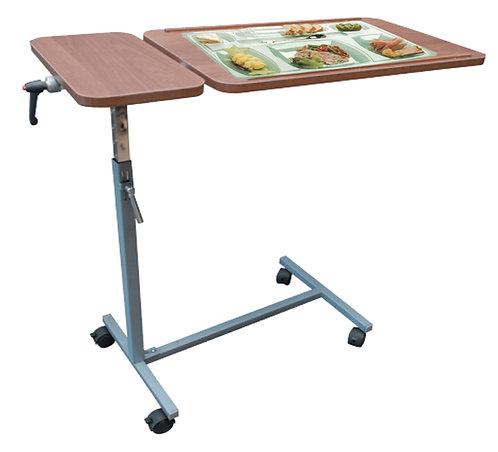 TABLE A MANGER EPOXY 2 PLATEAUX EN BOIS A VIS
