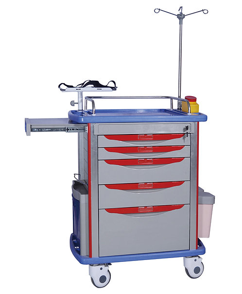 CHARIOT SOINS D'URGENCE ABS