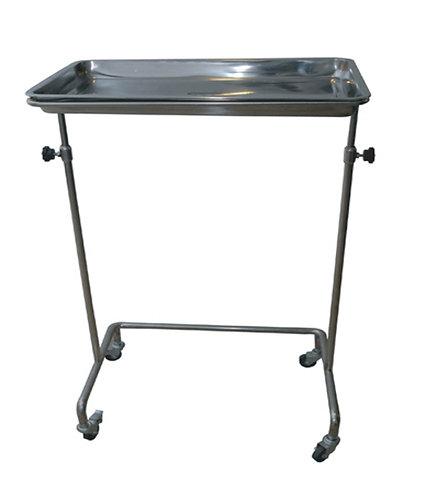 TABLE PONT EN INOX ROULANTE