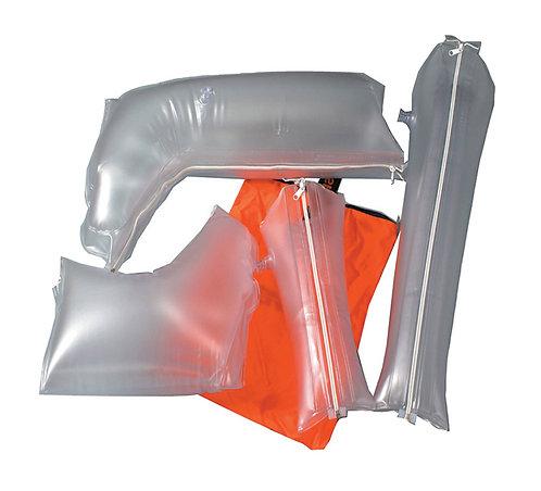 ATTELLES GONFLABLES EN PVC TRANSPARENT JEU DE 4