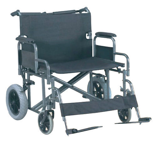 FAUTEUIL ROULANT ADULTE 'EXTRA-LARGE'