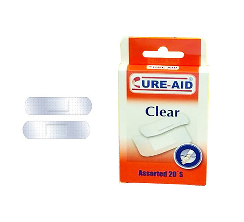 PANSEMENTS CURE AID PLASTIC CLEAR
