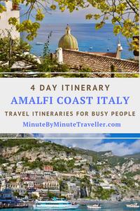 Amalfi Coast in 4 days